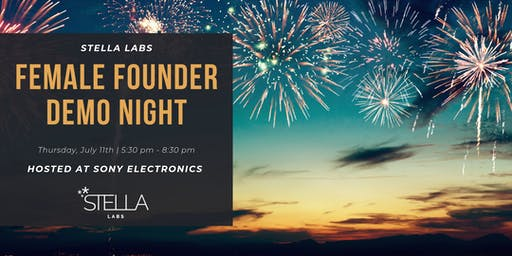 Stella Labs Female Founders Demo Night