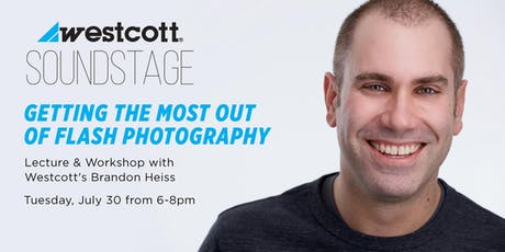 Getting The Most Out Of Flash Photography with Brandon Heiss tickets