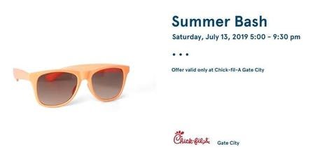 Summer Bash at Chick-fil-A Gate City tickets