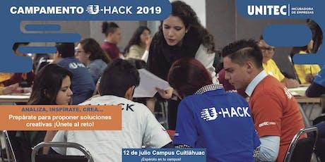 Campamento U-Hack 2019 Cuitláhuac entradas