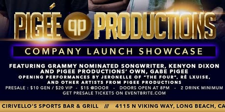 Pigee Productions Showcase tickets