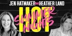 Jen Hatmaker and Heather Land Volunteers - Charlotte,...