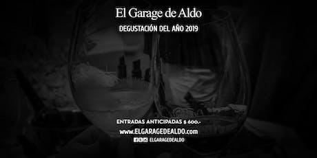 IIIº DEGUSTACIÓN DEL AÑO 2019 - EL GARAGE DE ALDO tickets