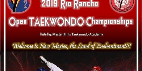 2019 Rio Rancho Open TKD Championships tickets