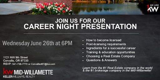 Career Opportunity Night