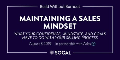 Maintaining a Sales Mindset [Webinar] tickets