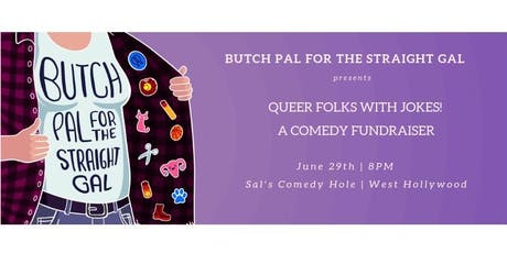 Queer Folks with Jokes!  - A Comedy Fundraiser tickets