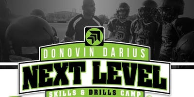 Donovin Darius Next Level Skills and Drills Preseason Training Camp