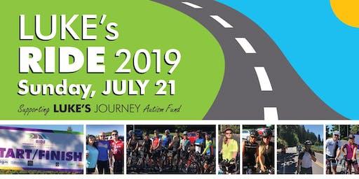Luke's Ride 2019–Autism Fundraiser