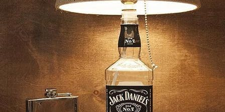 Make a Bottle Lamp Base