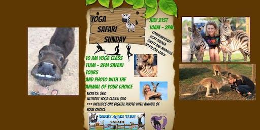 Yoga Safari Sunday!