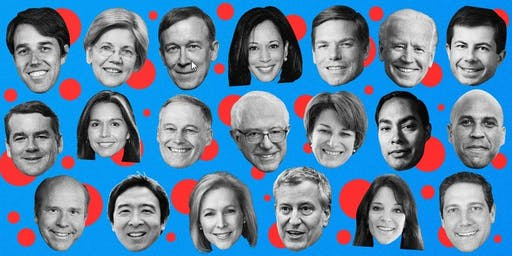 First Democratic Presidential Debate (Downtown) - Wednesday, June 26