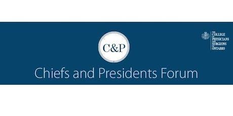 Chiefs & Presidents Forum 2019 tickets