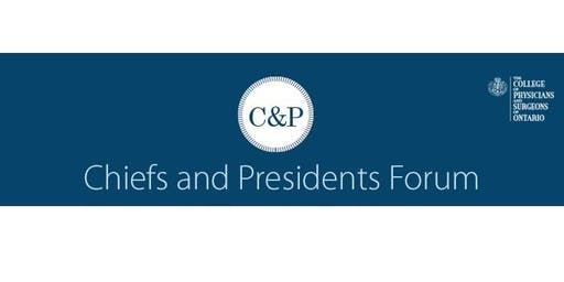 Chiefs & Presidents Forum 2019