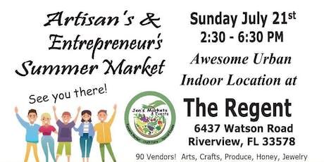 Artisans & Entrepreneurs Summer Market tickets