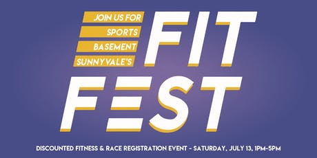 Sports Basement's Fit Fest 2019 - Sunnyvale tickets