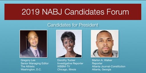 NABJ Candidates Forum, Hosted by WABJ/BABJ
