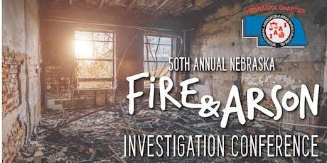 50th Annual Nebraska Fire & Arson Investigation Conference tickets