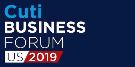 Cuti Business Forum - US 2019 entradas
