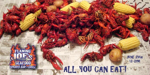 All You Can Eat Crawfish Boil