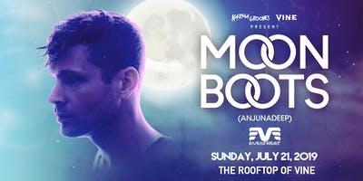 Moon Boots on the Rooftop at Vine - Sunday July 21