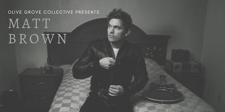 Matt Brown House Concert tickets