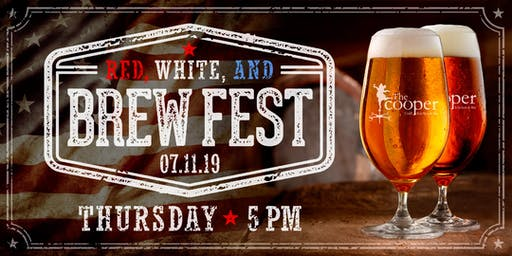 Red, White & Brew Fest at The Cooper