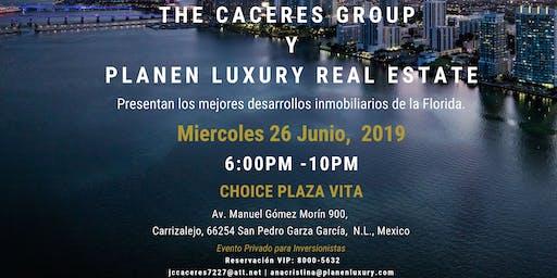 Miami Visita Monterrey; presentación de proyectos para inversionistas Miércoles 26 Junio, Choice Gómez Morin.