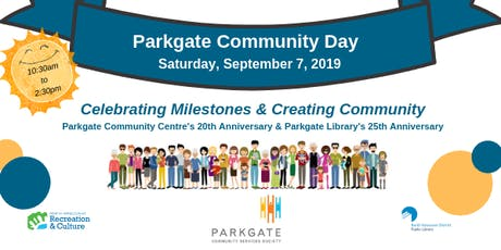 Parkgate Community Day tickets