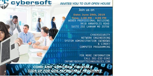Cybersoft Summer  IT Security Open House