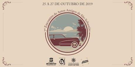 7° Encontro de Autos Antigos de São Sebastião ingressos