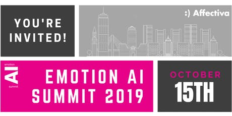 Emotion AI Summit 2019: Human-Centric AI tickets
