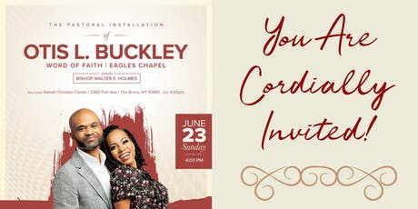 Pastoral Installation Of Otis L. Buckley tickets