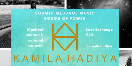 Cosmic Message Music :: A Sound Immersive tickets