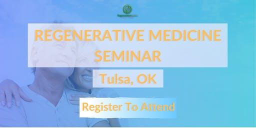 Regeneration Nation Stem Cell Seminar (Tulsa) - Reduce Pain With Stem Cells