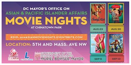 Chinatown Park Movie Nights tickets