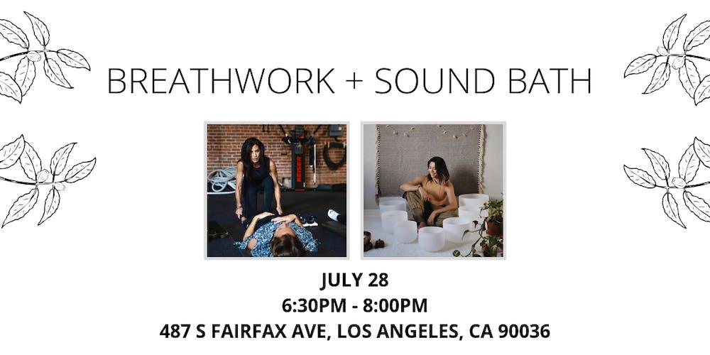 Transform with Breathwork + Sound Bath