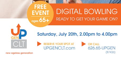 Digital Bowling - Ready To Get Your Game On? tickets
