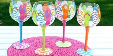 Wine Glass Painting Party! tickets