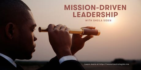 Mission-Driven Leadership Meetup tickets