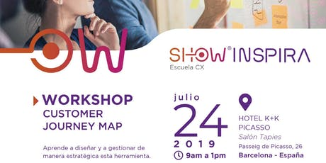Customer Journey Map - Workshop tickets