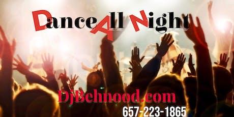 Dance All Night tickets