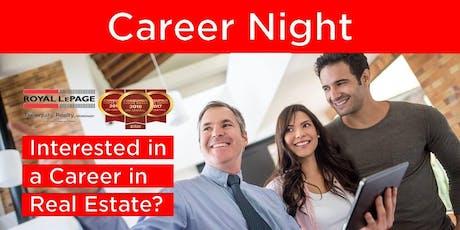 Real Estate Career Night June 20, 2019 tickets