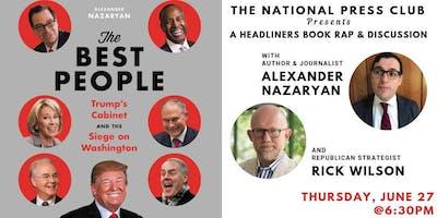 """NPC Headliners Book Event: Alexander Nazaryan - """"The Best People"""""""
