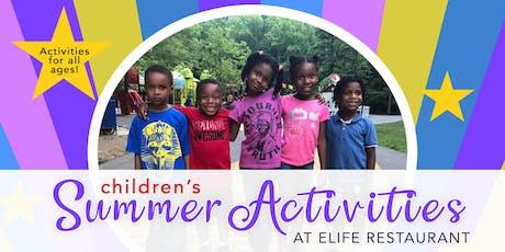 ELife Children's Summer Experience tickets