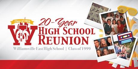Williamsville East High School - Class of 1999 20-Year Reunion! tickets