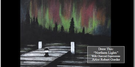 "Charcoal Drawing Event ""Northern Lights"" in Verona tickets"