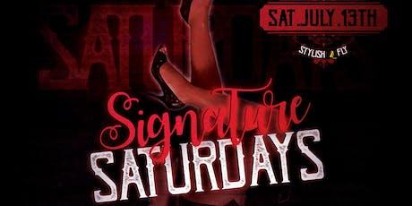 Signature Saturdays tickets