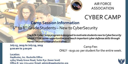 Air Force Association - CyberCamp