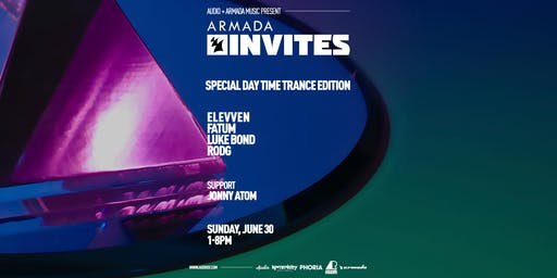 Armada Invites - Special Day Time Trance Edition